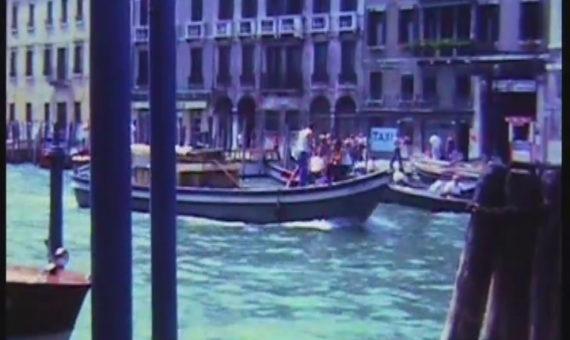 Super 8 – 4 Colour 1970s Views of Venice