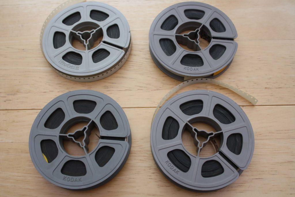 Deterioration Cine Film_Cleaning